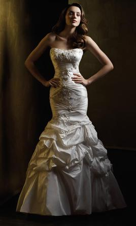 Piccione 410 Beaded Silk Mermaid, $500 Size: 10 | New (Un-Altered ...