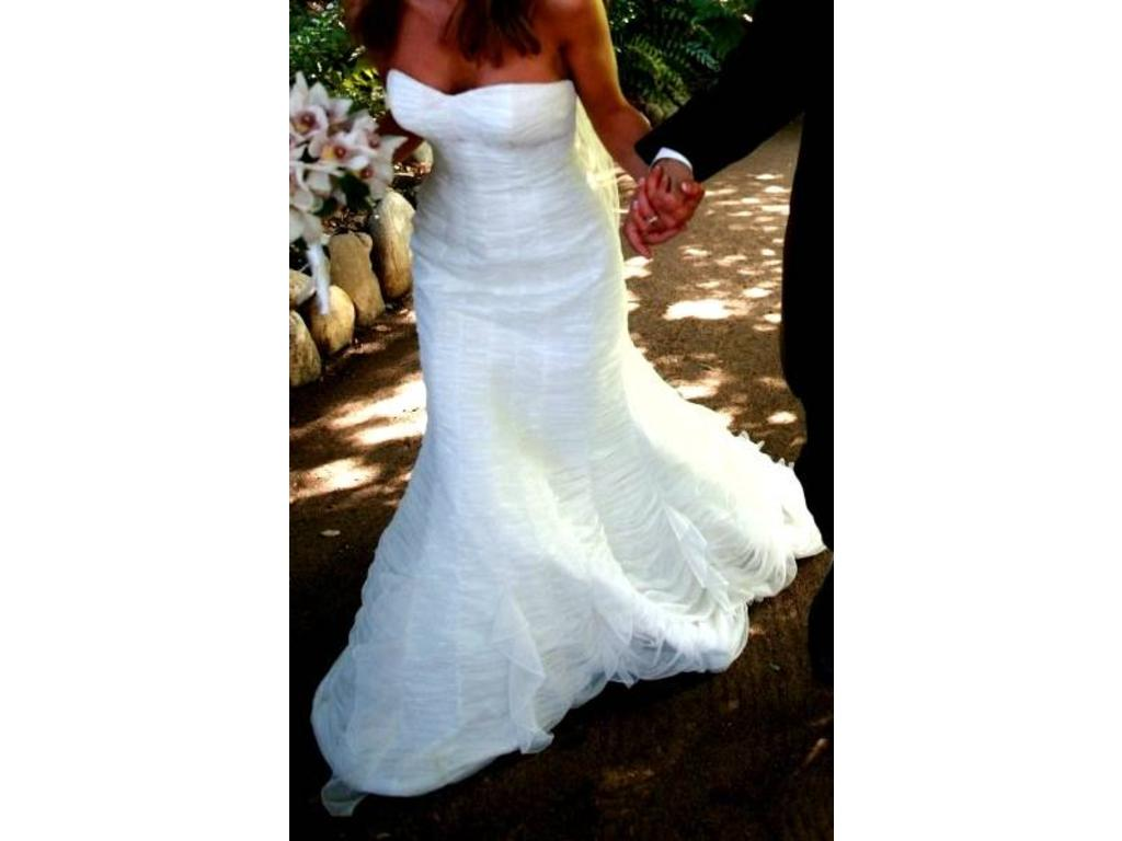 Heaven Wedding Gown: Melissa Sweet Heaven, $599 Size: 8