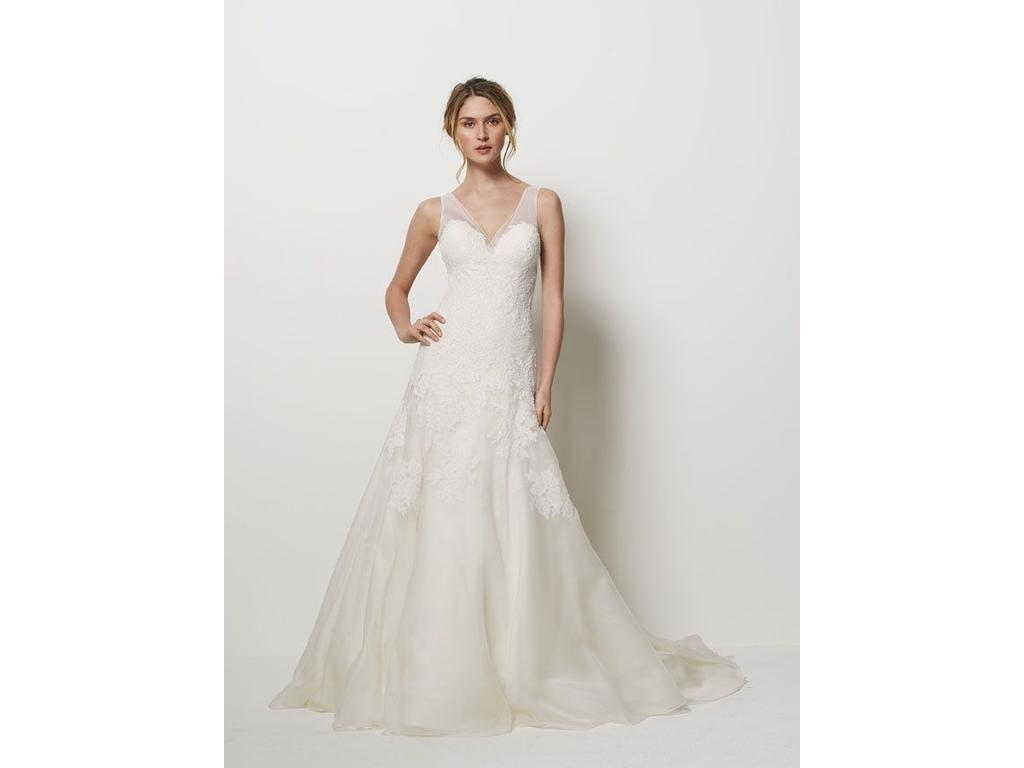 Watters san francisco 9077b 1 600 size 4 new un for Sell wedding dress san diego