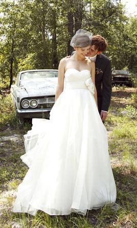 Watters Austin 6075b 1 200 Size 4 Used Wedding Dresses