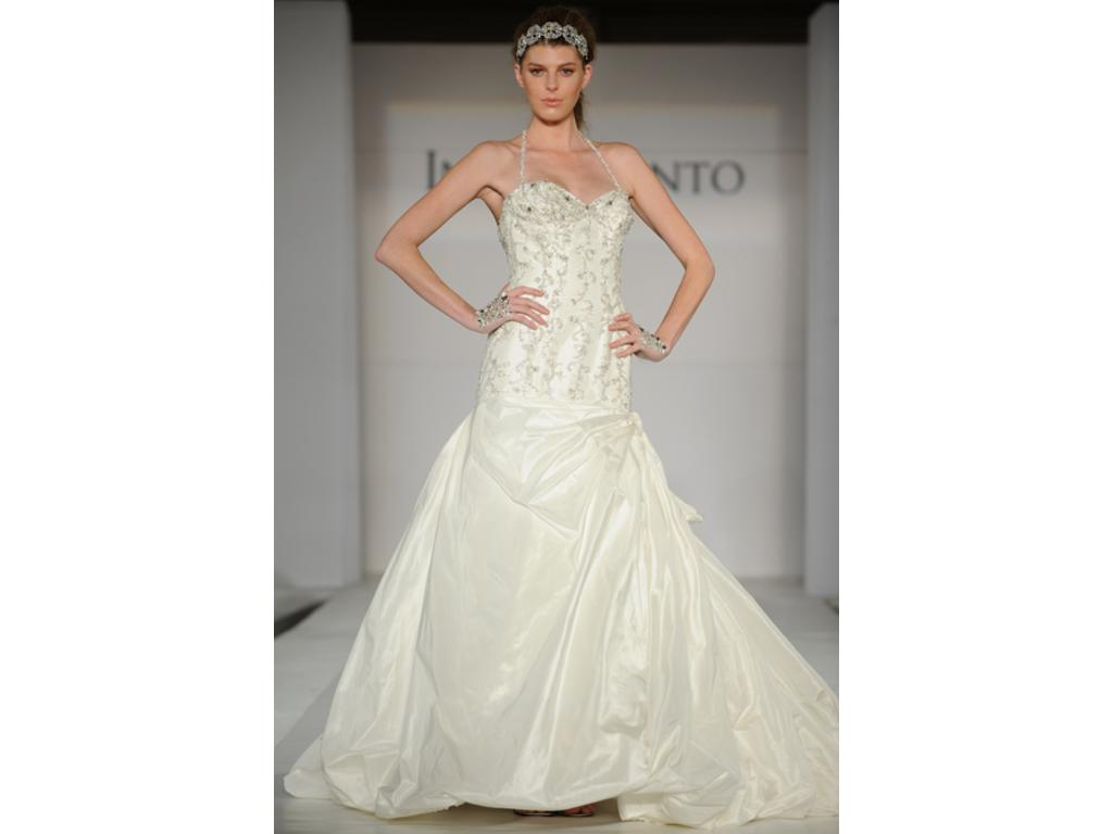 Ines di santo tanzanite 800 size 4 used wedding dresses for Ines di santo wedding dresses prices