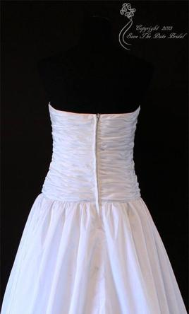 Forever yours 410106 55 size 12 new altered wedding for Forever yours wedding dress
