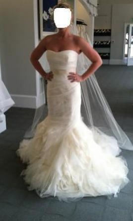 Vera Wang Gemma, $2,250 Size: 8 | Used Twice Wedding Dresses