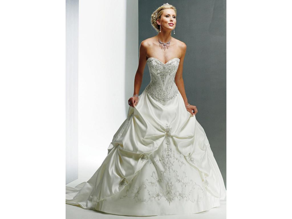 Maggie sottero monalisa 650 size 12 sample wedding for Who sells maggie sottero wedding dresses