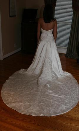 Matthew christopher 499 size 6 new un altered for Matthew christopher wedding dress prices