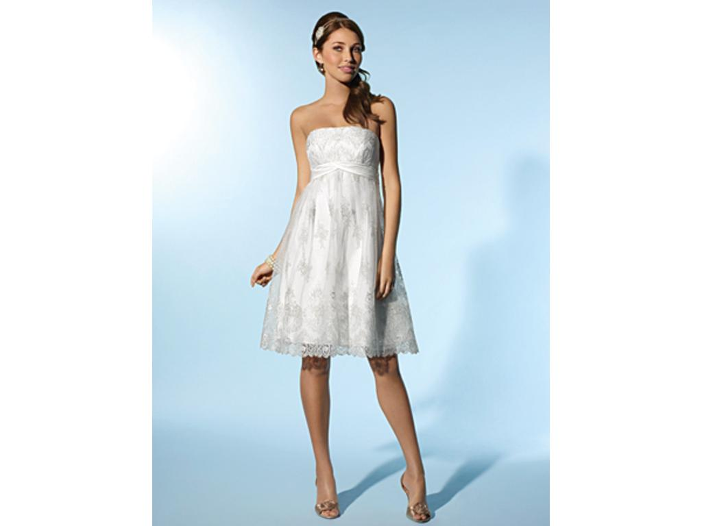 Alfred Angelo 2078 200 Size 10 New Un Altered Wedding Dresses