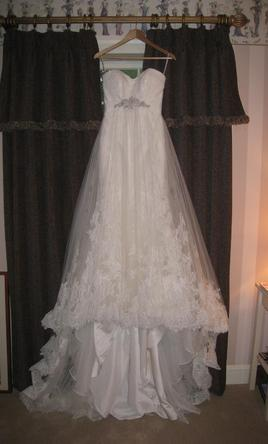 San patrick ramaje 850 size 8 used wedding dresses for Sell wedding dress san diego
