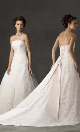 Forever yours 47241 300 size 14 sample wedding dresses for Forever yours wedding dress