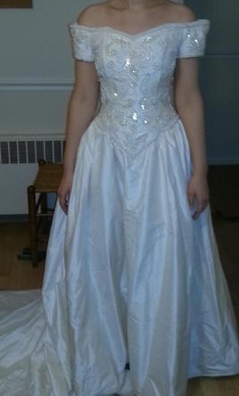 Forever yours 83906 90 size 2 used wedding dresses for Forever yours wedding dress