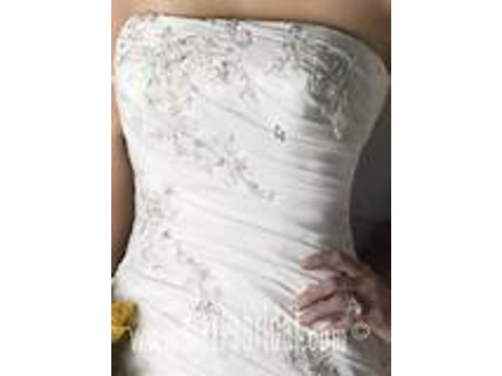 Mary 39 s bridal 5209 300 size 6 new un altered for Pc mary s wedding dress