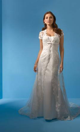 Alfred angelo 2000 360 size 12 sample wedding dresses for Used wedding dresses west palm beach