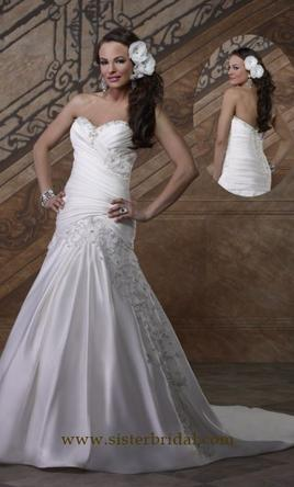 Forever yours 4904 550 size 12 new un altered for Forever yours wedding dress