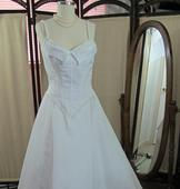 Ian Stuart Fitted Princess Gown
