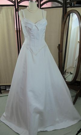Ian Stuart Fitted Princess Gown 12