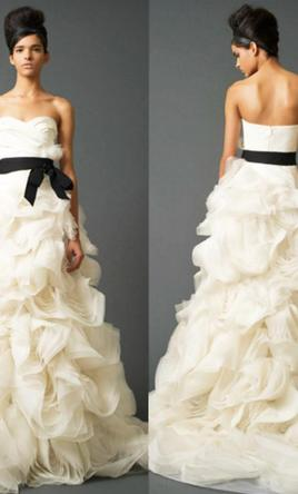 Vera wang ghillian 5 000 size 14 used wedding dresses for Wedding dresses under 5000