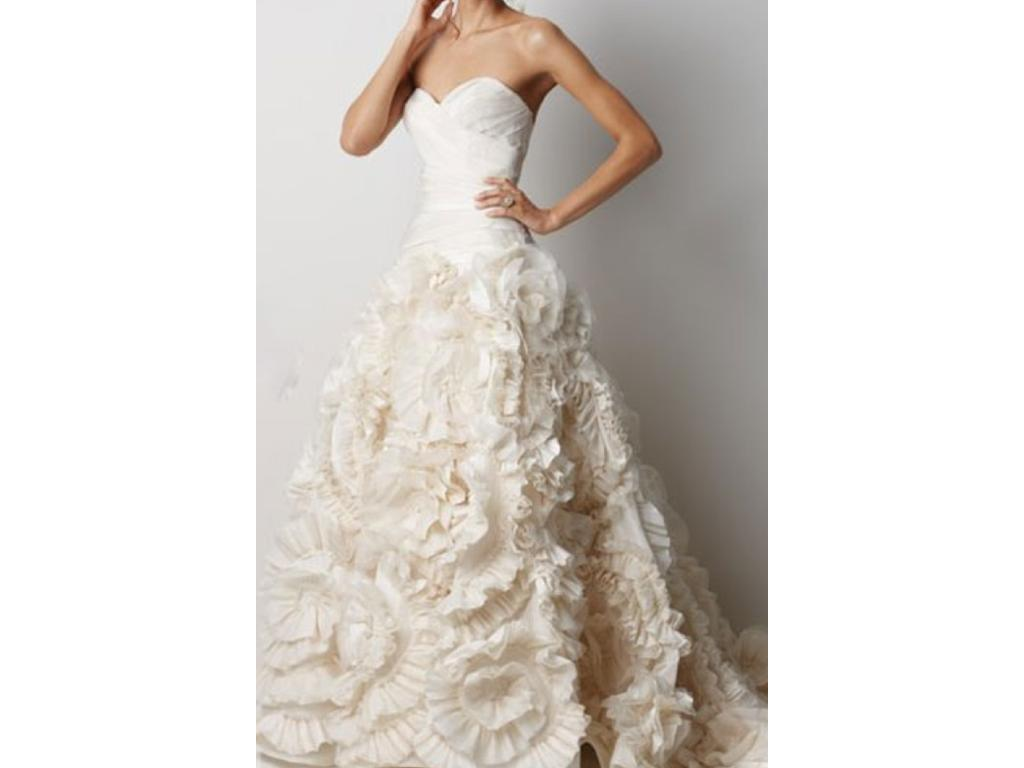 Watters 1 600 size 10 used wedding dresses for Buy used wedding dresses online