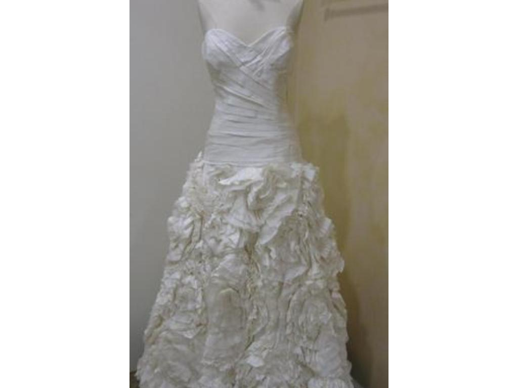 Used watters wedding dresses cheap wedding dresses for Pre owned wedding dresses