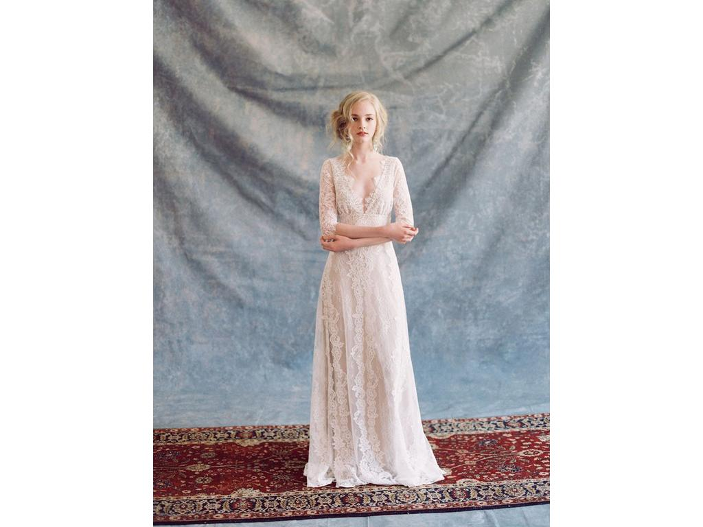 Claire Pettibone Patchouli, $1,200 Size: 10 | Used Wedding Dresses