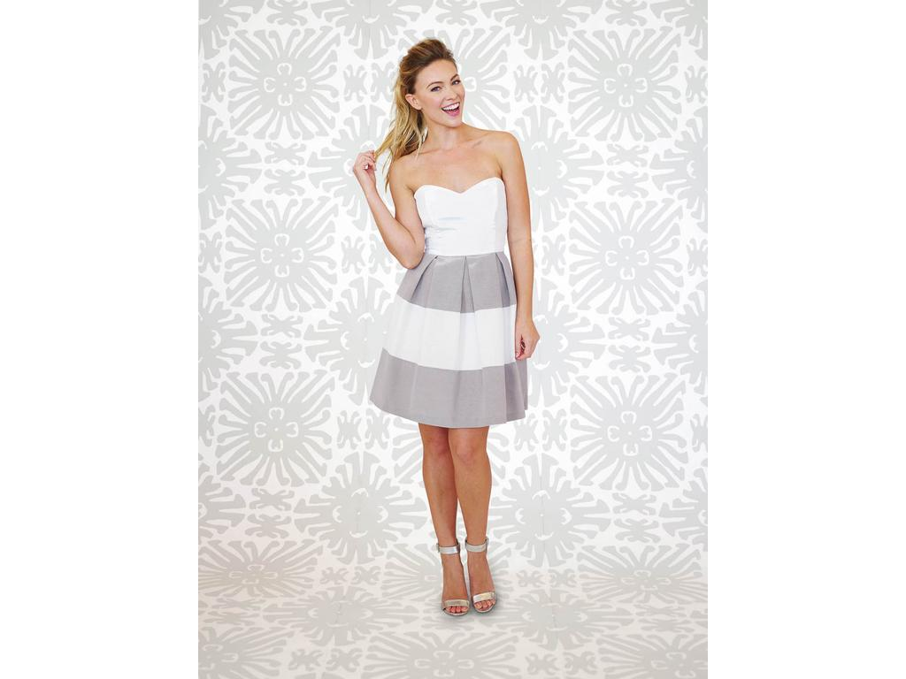 LulaKate STRIPED LUCY, Size: 10 | Bridesmaid Dresses