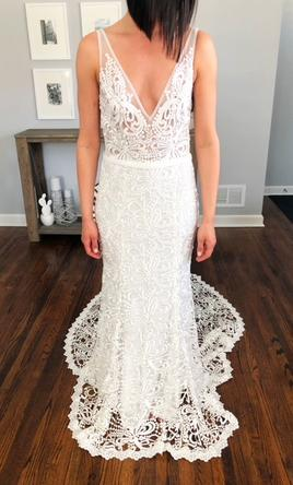 Made with love new sasha 1 799 size 10 new altered for Made with love wedding dresses