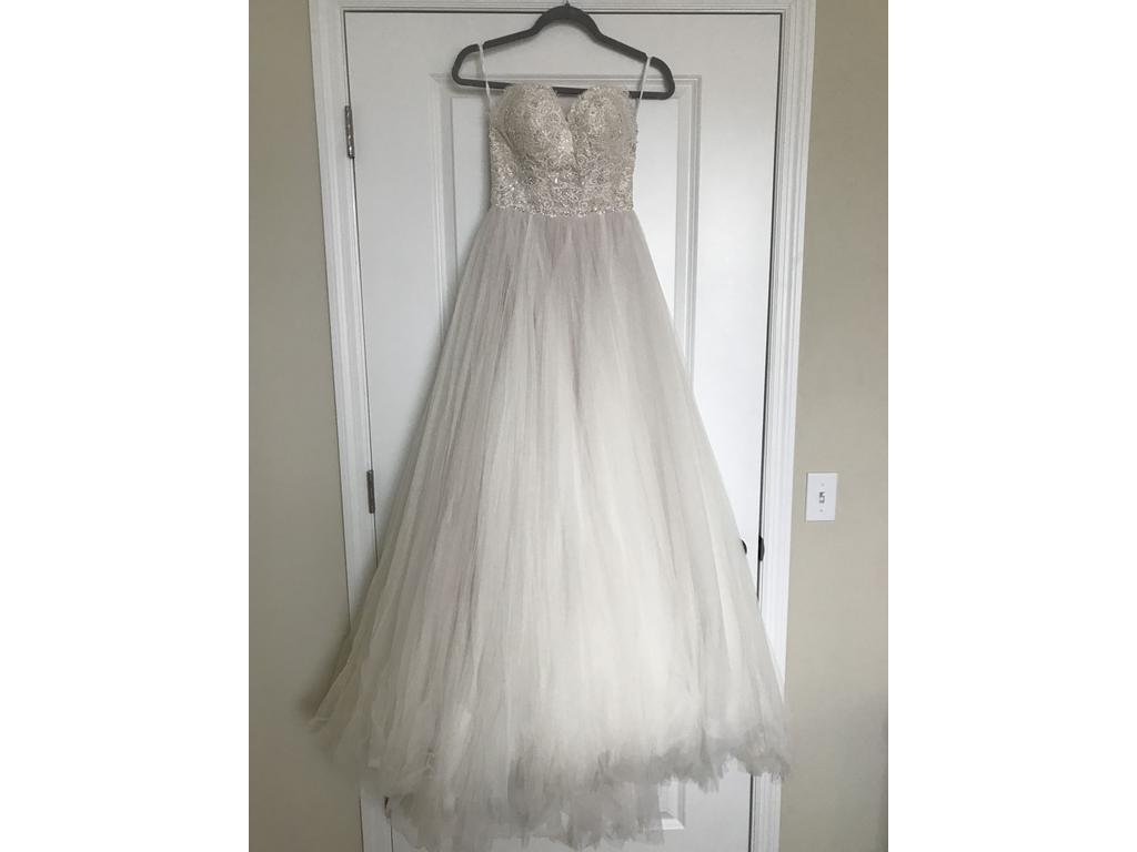 Watters sheridan 8109b 800 size 0 used wedding dresses for Used wedding dress size 0