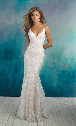 3fabee509c7 Pin it Add to  Allure Bridals 9508 12