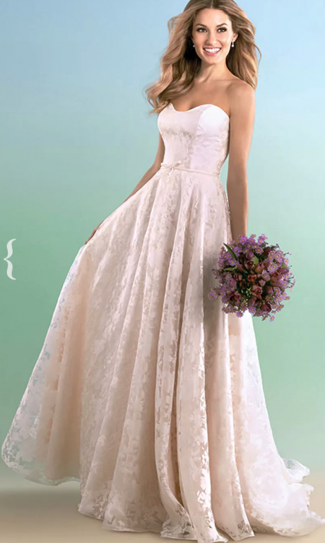 Alfred Angelo 603, $899 Size: 12 | New (Un-Altered) Wedding Dresses