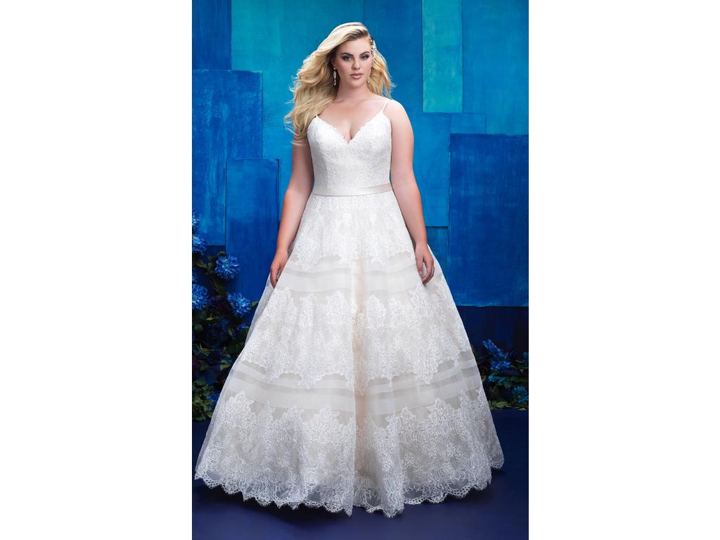 a63ee21bd41 Pin it Add to  · Allure Bridals 9400 (W397) 30W
