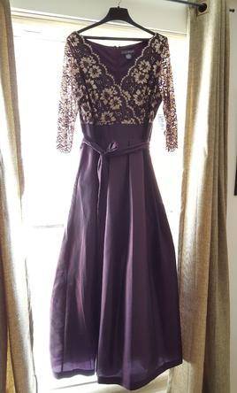 ac48ecb75d3 Pin it · David s Bridal Jessica Howard  Floral Lace and Shantung Ball Gown  16