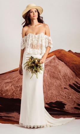 Stone Cold Fox Grace Skirt And Moroccan Holy 800 Size 6 New Un Altered Wedding Dresses