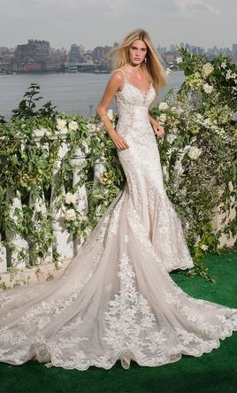 Eve of Milady Lace Wedding Dress