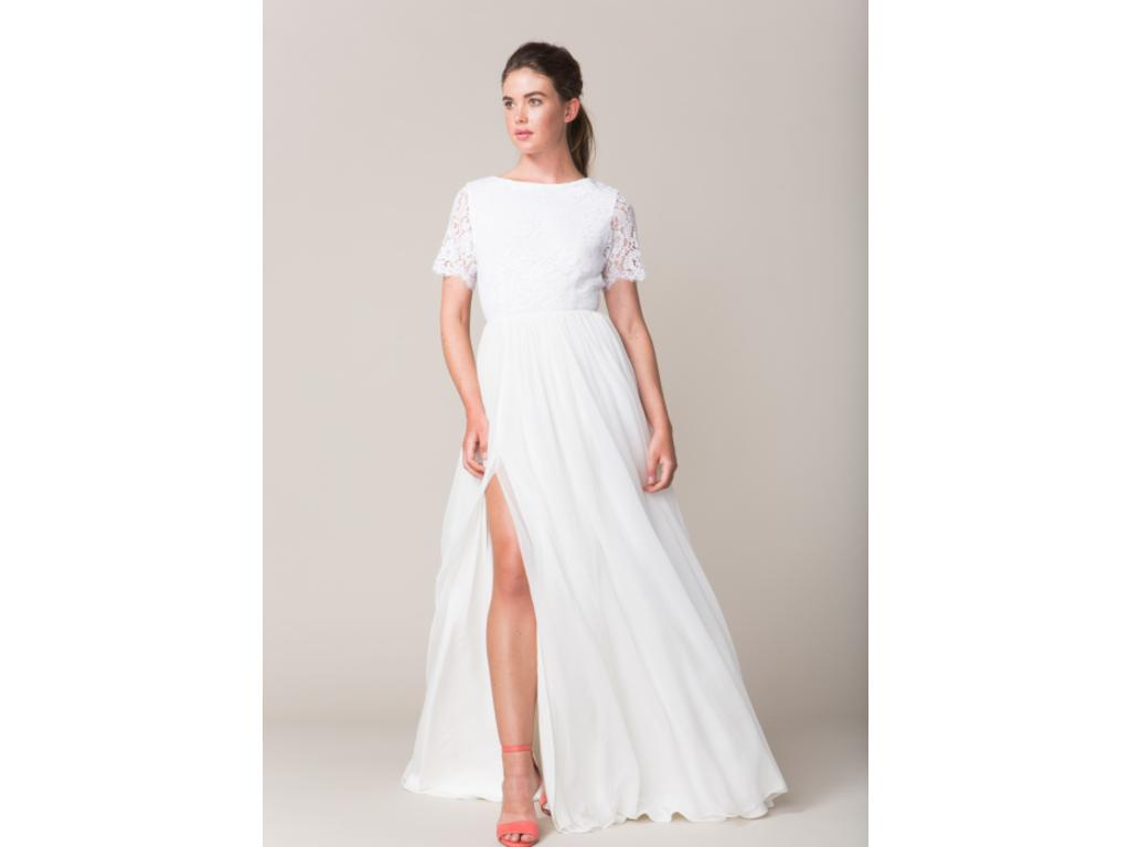 Sarah Seven Aveline 350 Size 10 Sample Wedding Dresses