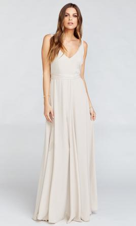 Other Jen Maxi Dress Show Me The Ring Crisp 10