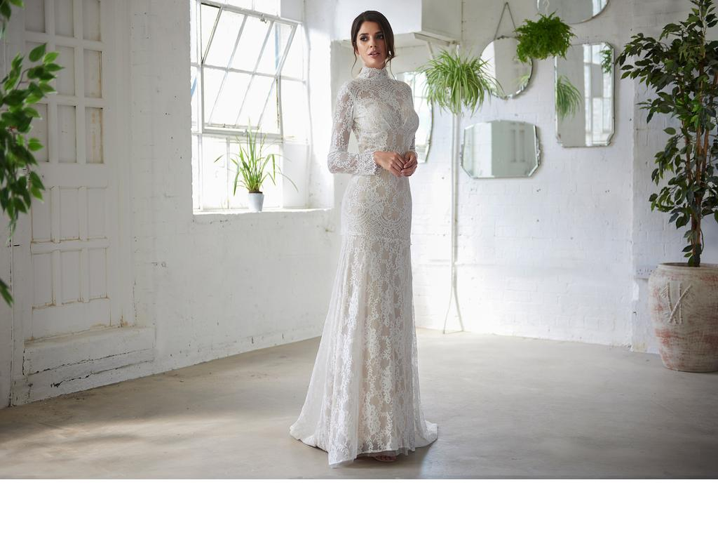 Inspired Gowns BOHO Wedding dress UK3035 All sizes available, £795 ...