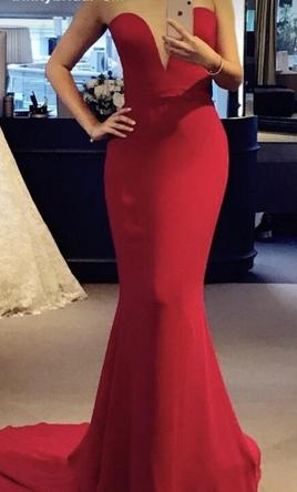 41c0c84417 Pin it · Reem Acra Red Evening Gown 4