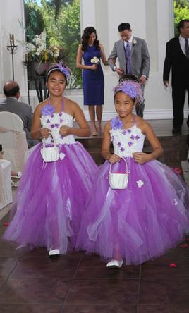 Magenta Flower Girl Dresses