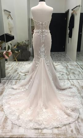 Randy Fenoli Elizabeth Wedding Dress Sample Size 8 3 055