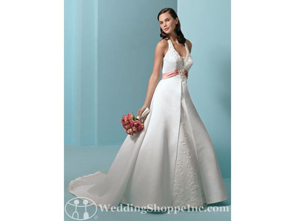 David\'s Bridal Alfred Angelo 1678, $240 Size: 6 | New (Un-Altered ...