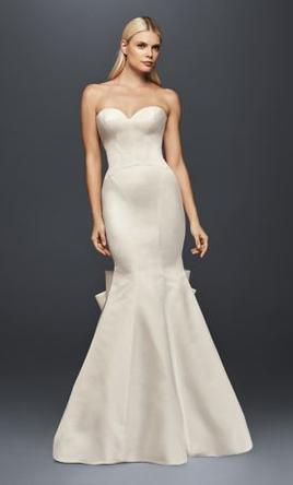 Zac Posen Truly Seamed Satin Petite Wedding Dress, $400 Size: 2 ...