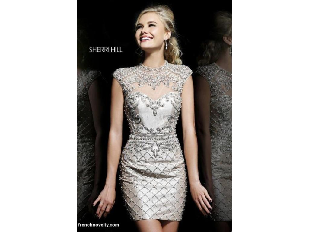 Cocktail Dress Wedding.Other Sherri Hill 4304 Couture Cocktail Dress
