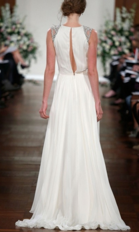 Jenny Packham Ivy, $850 Size: 8 | Used Wedding Dresses