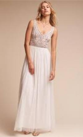 73aa197231 ... BHLDN STERLING DRESS IVORY Style  43162072 8