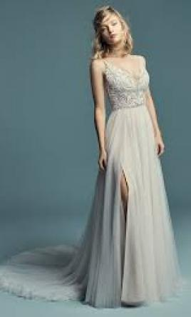 d0b9b99bb5a3 Maggie Sottero Charlene Wedding Dress | Used, Size: 4, $900