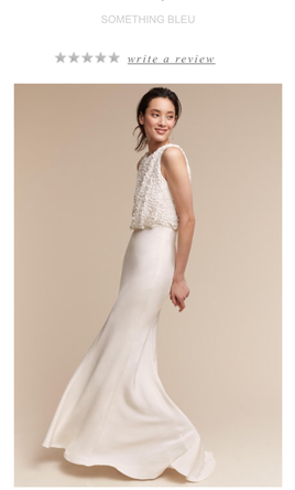 Pin It BHLDN Something Blue Vancouver Imogene Gown 6