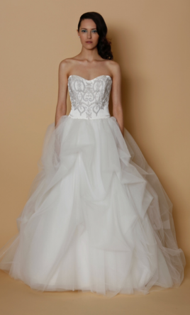 Alyne Bridal Roses, $1,765 Size: 10 | Sample Wedding Dresses