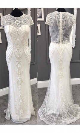 33ec9536f4 Mori Lee Musidora 6869 Wedding Dress | Sample, Size: 8, $475