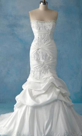 Pin It Alfred Angelo Disney Fairy Tale Collection Style 201 Ariel Gown 4