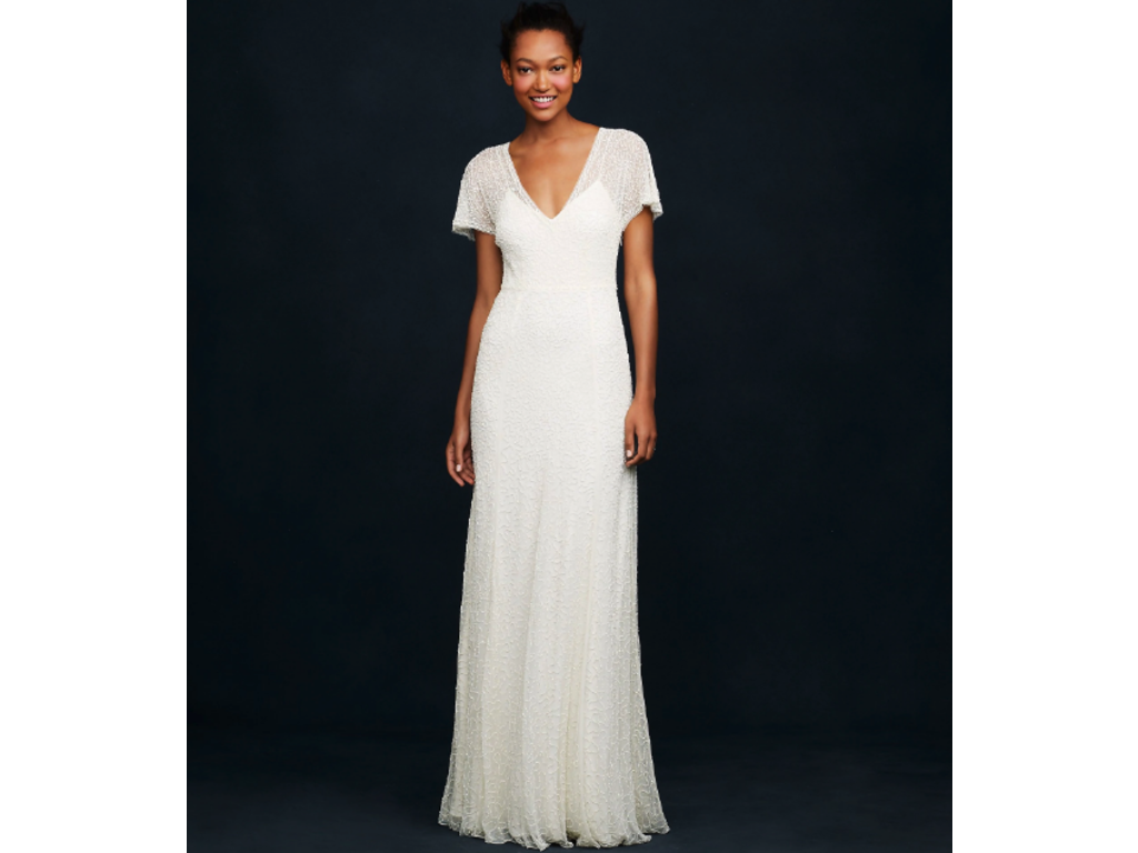 J. Crew Beaded Vintage Gown style #A0368, $425 Size: 6   New (Un ...