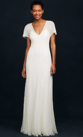 J. Crew Beaded Vintage Gown style #A0368, $425 Size: 6 | New (Un ...