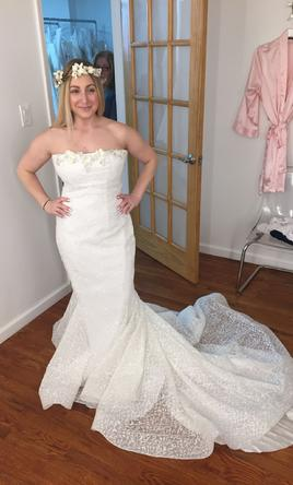 Other IRIS NOBLE FIT AND FLARE WEDDING DRESS STYLE#46, $999 Size: 6 ...